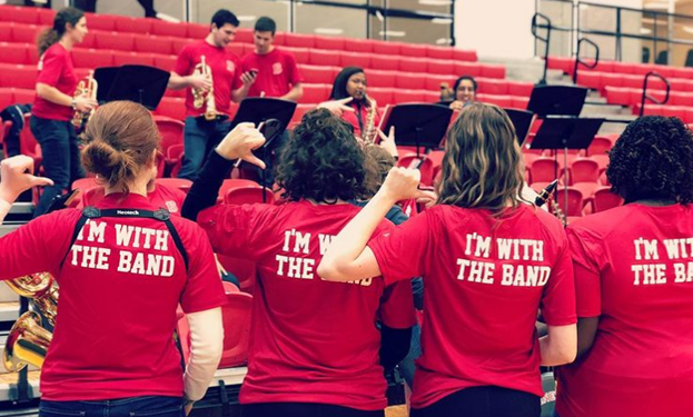 Pep band offers a stipend and credit for students who participate