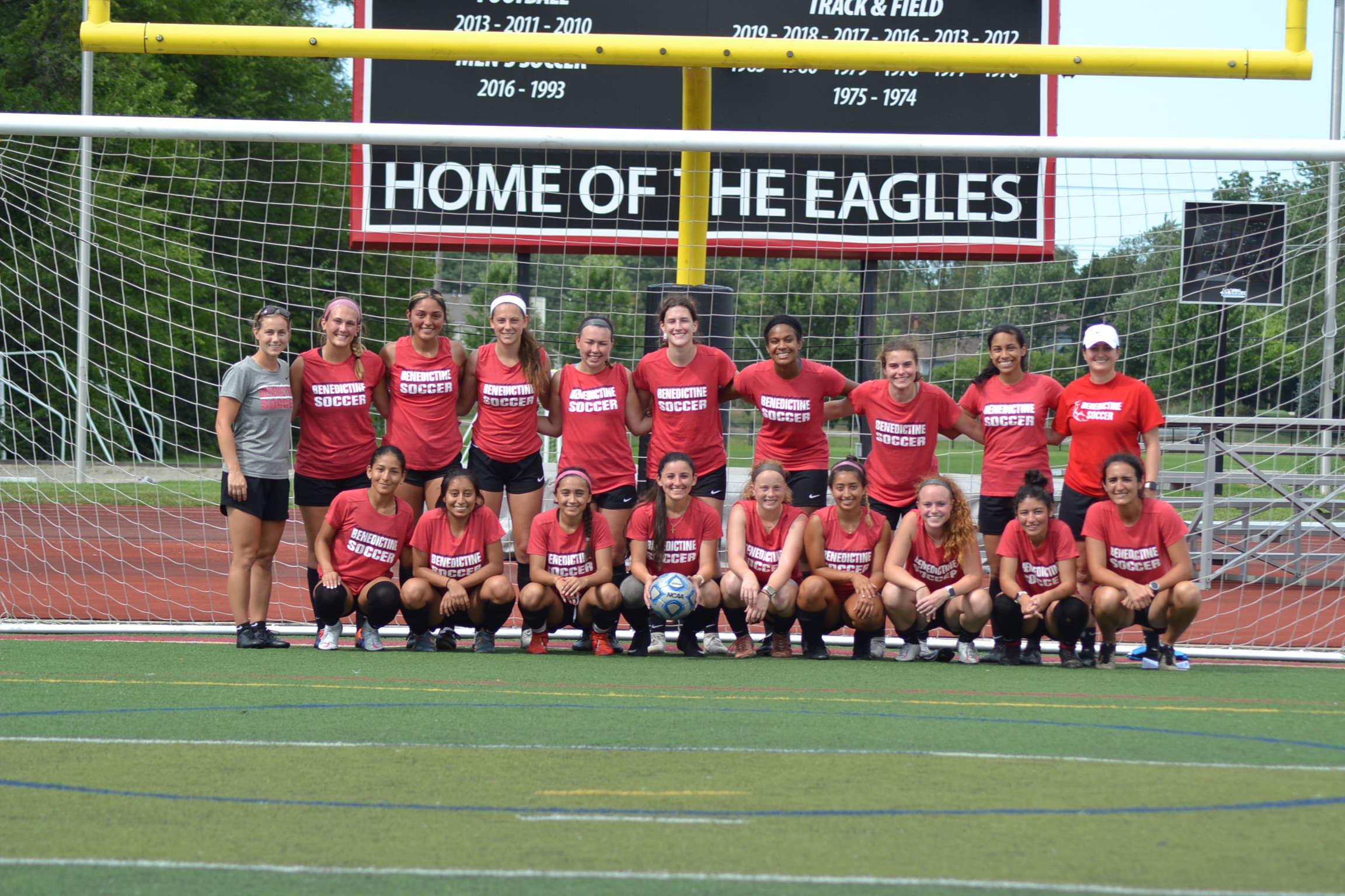 Women's Soccer Team Photo